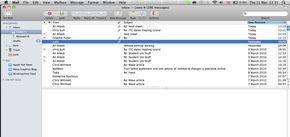Emailový klient Apple Mail
