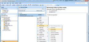 Emailový klient Outlook