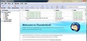 Emailový klient Thunderbird